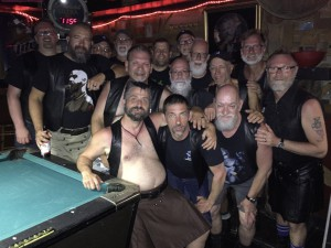 Hanging out with DLF Brothers at San Antonio Leather Bar 2017